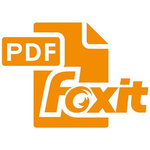 foxitpdf logo